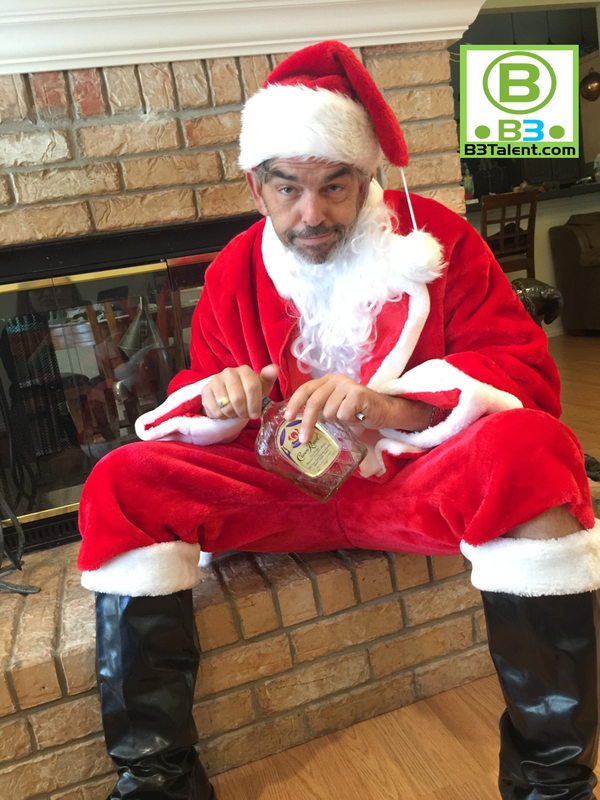HAVING AN ADULT HOLIDAY PARTY? FOOL YOUR FRIENDS WITH THIS AWESOME BAD  NAUGHTY SANTA LOOK ALIKE! BOOK HIM TODAY FOR YOUR DALLAS/FORT WORTH AREA  EVENT!